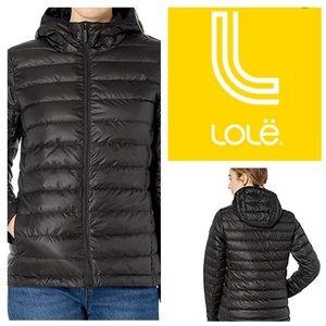 LOLE Emeline Down Jacket, Reversible NWOT